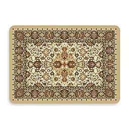 Bungalow Flooring New Wave 22-Inch x 31-Inch Tabriz Natural Kitchen Mat