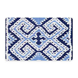 Bungalow Flooring New Wave 22-Inch x 31-Inch Ikat Wrap Kitchen Mat