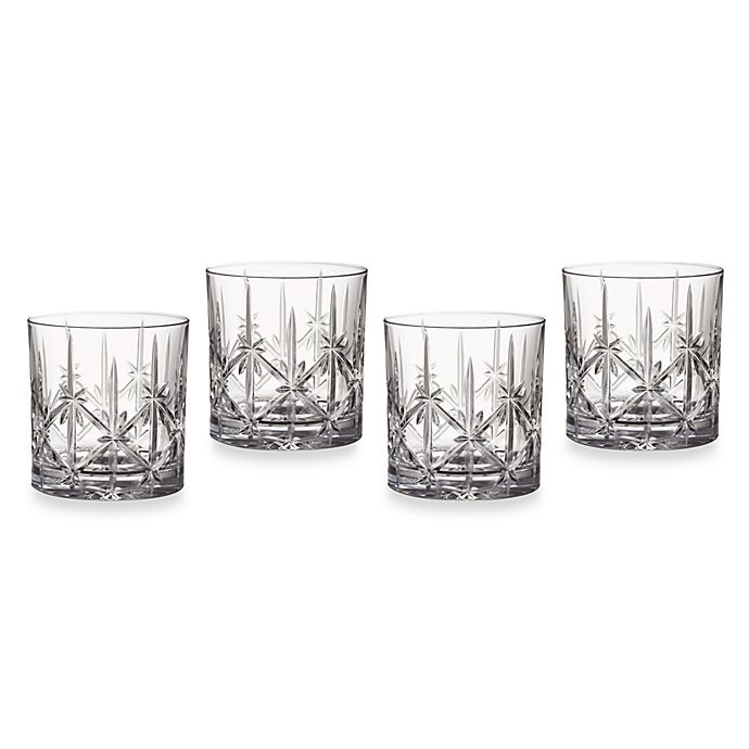 Alternate image 1 for Marquis® by Waterford Sparkle 12 oz. Double Old-Fashioned Glasses (Set of 4)