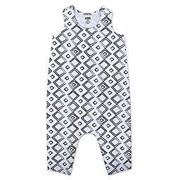 Aimee Kestenberg® Squares Coverall in Black/White