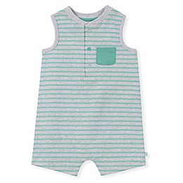 Absorba® Striped Sleeveless Romper in Grey