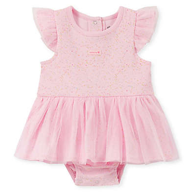 Absorba® Speckled Skirted Sunsuit in Pink