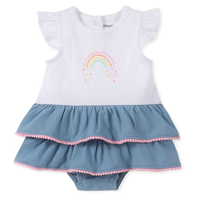 Alternate image 1 for Absorba® Chambray Sunsuit in White