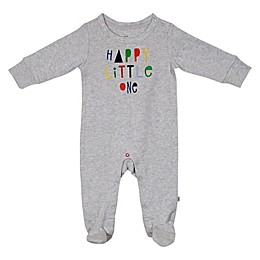 ED Ellen DeGeneres Happy Little One Footie in Grey