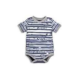 Burt's Bees Baby® Starry Stripes Romper in Grey