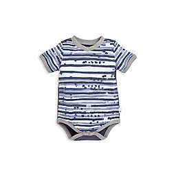 Burt's Bees Baby® Starry Stripes Romper in Grey