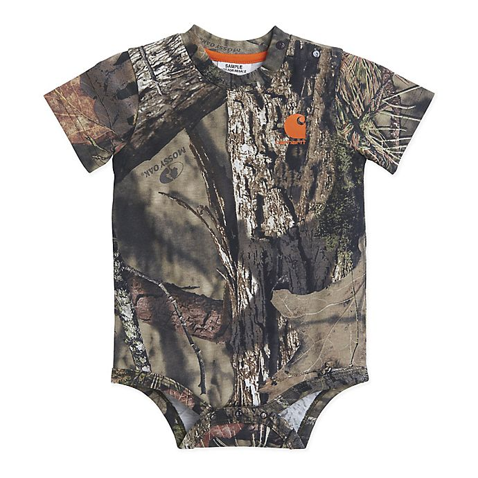 Alternate image 1 for Carhartt® Size 9M Mossy Oak® Camouflage Bodyshirt in Olive
