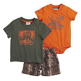 Carhartt® Camo 3-Piece Gift Set in Orange/Brown