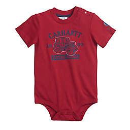 Carhartt® Farmer Short Sleeve Bodyshirt in Red