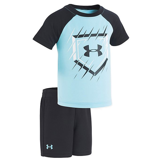Alternate image 1 for Under Armour® Surfs Up 2-Piece Set in Blue
