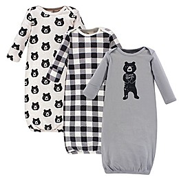 Yoga Sprout® 3-Piece Bear Hugs Gown Set