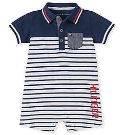Tommy Hilfiger® Polo Romper in Navy