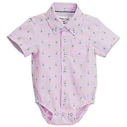 dc6db8e20 Sovereign Code® Pineapple Short Sleeve Button Up Onesie ...