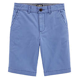 OshKosh B'gosh® Flat Front Shorts in Blue