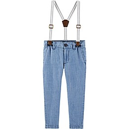 OshKosh B'gosh® Chambray Suspender in Blue