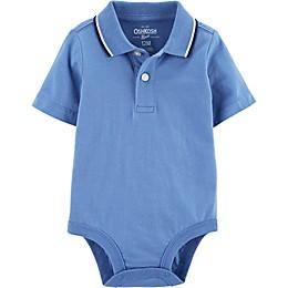 OshKosh B'gosh® Polo Bodysuit in Blue