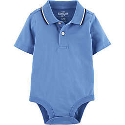 OshKosh B'gosh® Polo Bodysuit in Blue