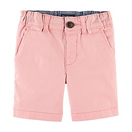 OshKosh B'gosh® Flat Front Stretch Shorts in Pink