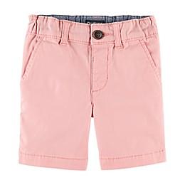 OshKosh B'gosh® Flat Front Stretch Shorts in Pink