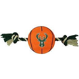 NBA Milwaukee Bucks Basketball Indoor/Outdoor Pet Toy