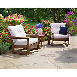 POLYWOOD® Vineyard 3-Piece Deep Seat Rocker Set