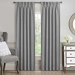 J. Queen New York™ Aida 108-Inch Rod Pocket Window Curtain Panel in Grey