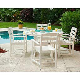POLYWOOD® La Casa 5-Piece Outdoor Dining Table Set