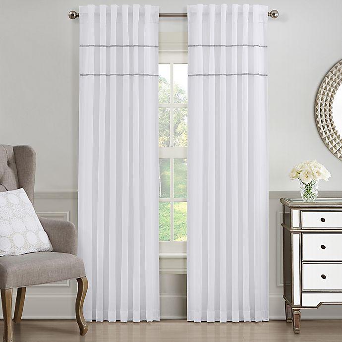 Alternate image 1 for J. Queen New York™ Elsa Window Curtain Panel