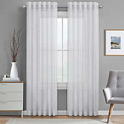 J. Queen New York™ Alberta Sheer Rod Pocket Window Curtain Panel