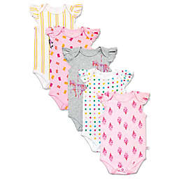 Rosie Pope Baby® 5-Pack Short Sleeve Carnival Bodysuits