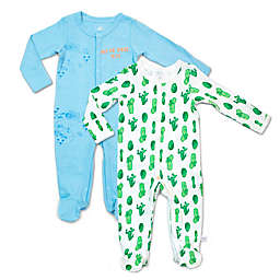 Rosie Pope Baby® 2-Pack Road Trip Cactus Coveralls
