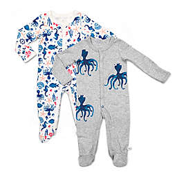 Rosie Pope Baby® 2-Pack Octopus Nautical Coveralls