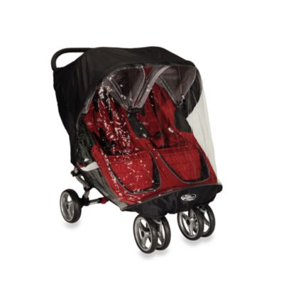 Baby Jogger 174 City Mini Mini Gt Double Rain Canopy Buybuy
