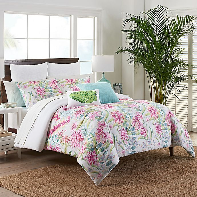 Alternate image 1 for Coastal Life Luxe Honolulu Bedding Collection