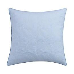 Coastal Life Luxe Tropez European Pillow Sham in Aqua