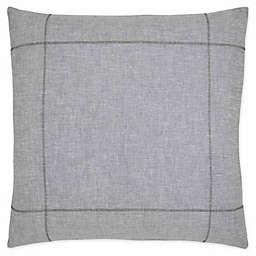 ED Ellen DeGeneres™ Dream Square Pillow in Blue Wash