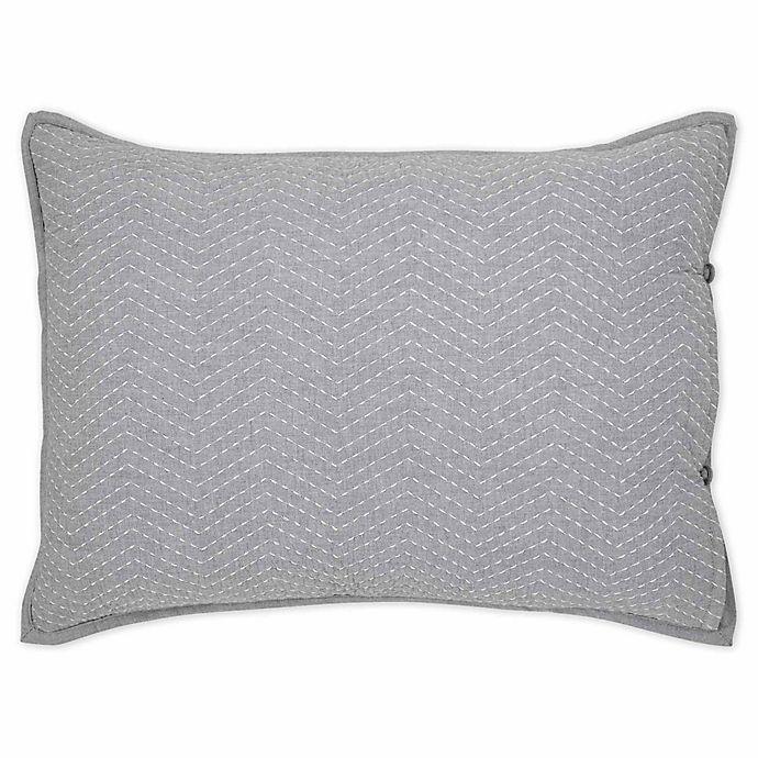 Alternate image 1 for ED Ellen DeGeneres™ Dream Breakfast Throw Pillow in Blue Wash