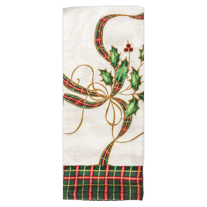 Alternate image 1 for Lenox® Holiday Nouveau Kitchen Towel