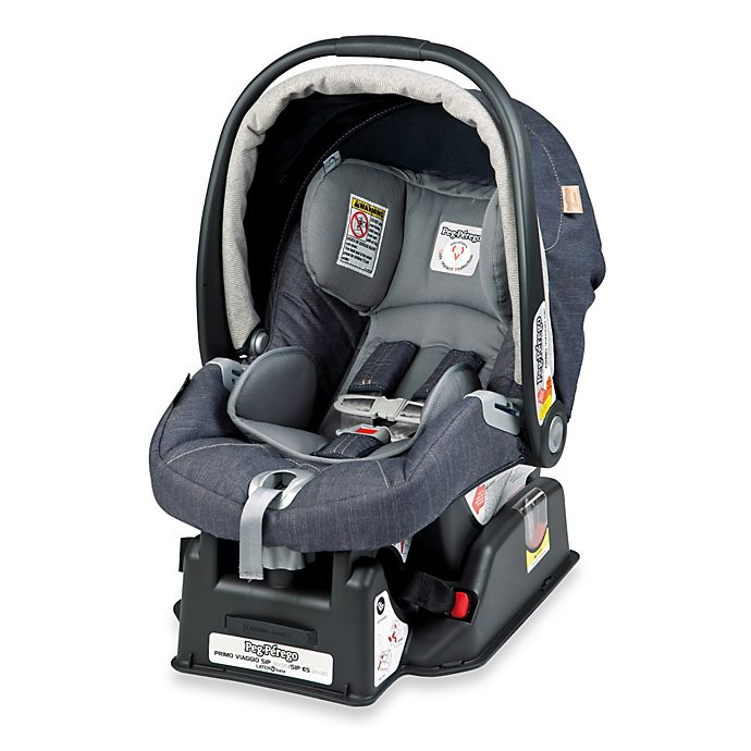 Alternate image 1 for Peg Perego® Primo Viaggio SIP 30/30 Infant Car Seat in Denim