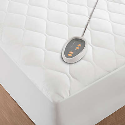 Beautyrest® Microfiber Heated Mattress Pad in White