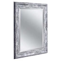 Head West Farmhouse Distressed Wall Mirror