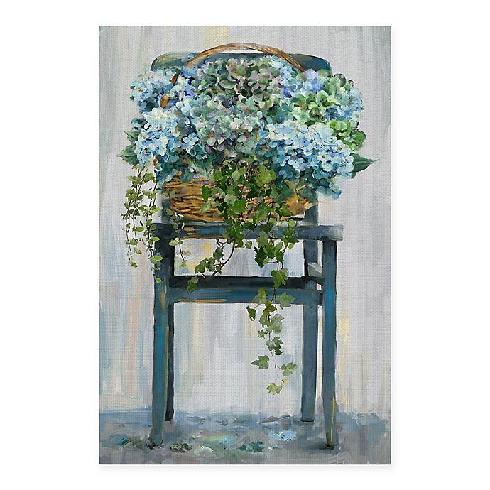 Alternate image 1 for Masterpiece Art Gallery Farmhouse Hydrangeas 24-Inch x 36-Inch Canvas Wall Art