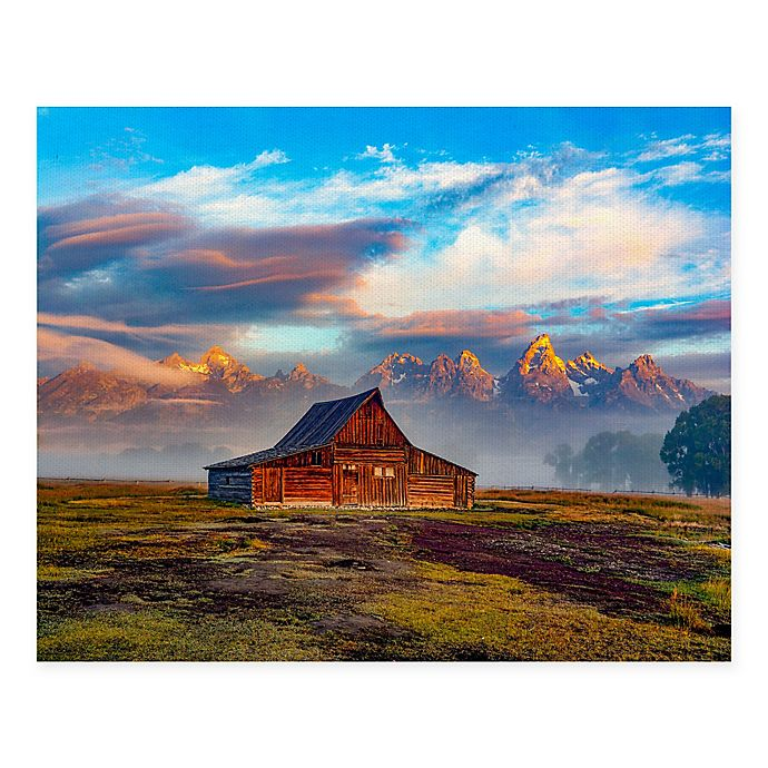 Alternate image 1 for Masterpiece Art Gallery Serenity 22-Inch x 28-Inch Canvas Wall Art