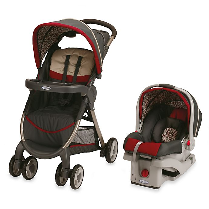 Graco Fastaction Fold Click Connect Travel System In Finley