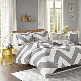 Mi Zone Libra Reversible Chevron Duvet Cover Set