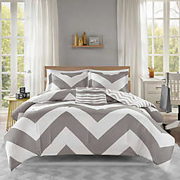 Mi Zone Libra Twin/Twin XL Comforter Set in Grey