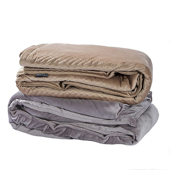 Alternate image 1 for BlanQuil Quilted Weighted Blanket