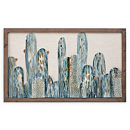 Madison Park Cactus Metal Wall Art Décor