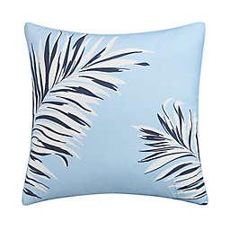 Coastal Life Luxe Shelly European Pillow Sham in Aqua