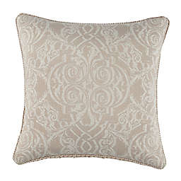 Rose Tree Laurenza 18-Inch Square Throw Pillow in Linen